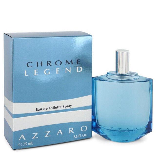 Azzaro Chrome Legend 75ml EDT (M) SP Mens100% Genuine (New)