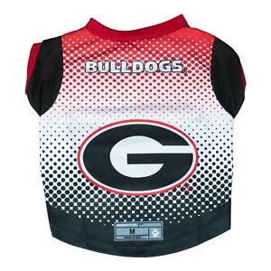 Georgia-Bulldogs-NCAA-Licensed-Dog-Pet-Performance-Tee-Sizes-XS-XL
