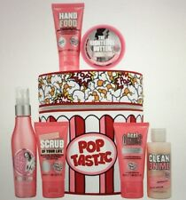 NEW Soap And glory 'POPTASTIC' - Limited Edition