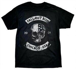 Fall-Out-Boy-T-shirt-le-Hella-Mega-Tour-2020-T-Shirt-Chicago-SKULL-USA