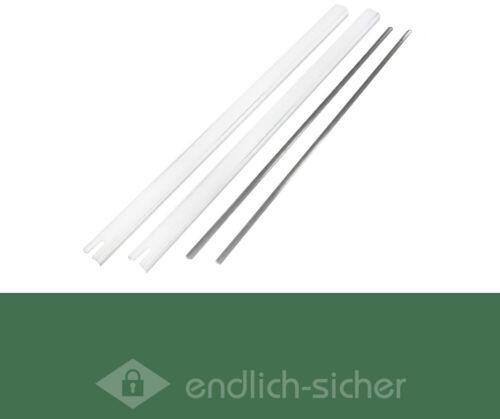 Stangenset Nr 3 für Fensterstangenschloss ABUS FOS 550 in weiß