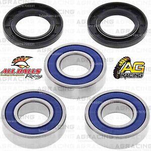 All Balls Rear Wheel Bearings /& Seals Kit For Kawasaki KX 125 2004 Motocross