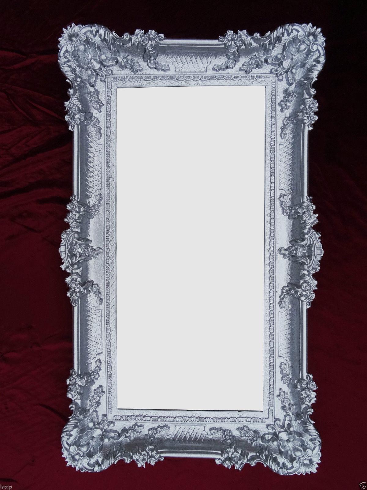 Barocco specchio muro in stile antico con decorazioni for Specchio barocco argento