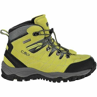 Cmp Trekking Scarpe Outdoorschuh Kids Arietis Trekking Shoes Wp Verde Chiaro-mostra Il Titolo Originale