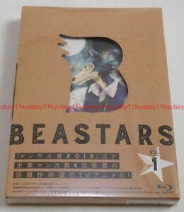 Nuevo-beastars-Vol-1-Primera-Edicion-Limitada-Blu-ray-Soundtrack-CD-booklet-Japon