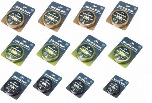Nash Skinlink Semi-Stiff 10m Vorfach Vorfachmaterial Karpfenvorfach
