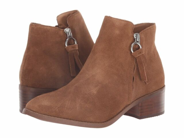 0cce0f1b60f Steve Madden Dacey Ankle BOOTS 187 Cognac Suede 7 US for sale online ...