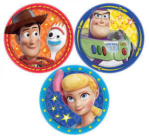 Toy-Story-Party-Supplies-Toy-Story-Paper-Party-Snack-Plates-18cm-dia-pack-of-8