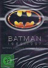 DVD-BOX NEU/OVP - Batman 1989-1997 - 4 Filme - Batman / Batmans Rückkehr u.a.