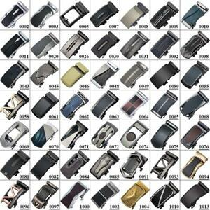 100-Kinds-Mens-Belts-Buckles-Automatic-Ratchet-Fit-3-3cm-to-3-6cm-Width-Belts