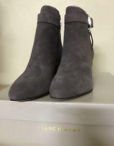 9e689e9577a64 Marc Fisher - mf WYNIE ankle bootie dark Gray suede Size 7.5M ...