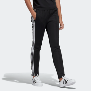 526ff2fb1f Details about NWT ADIDAS Women's Originals SST Superstar Track Pants Black  White Slim-Fit L