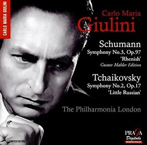 Schumann: Symphony No.3; Tchaikovsky: Symphony No.2 [New SACD]