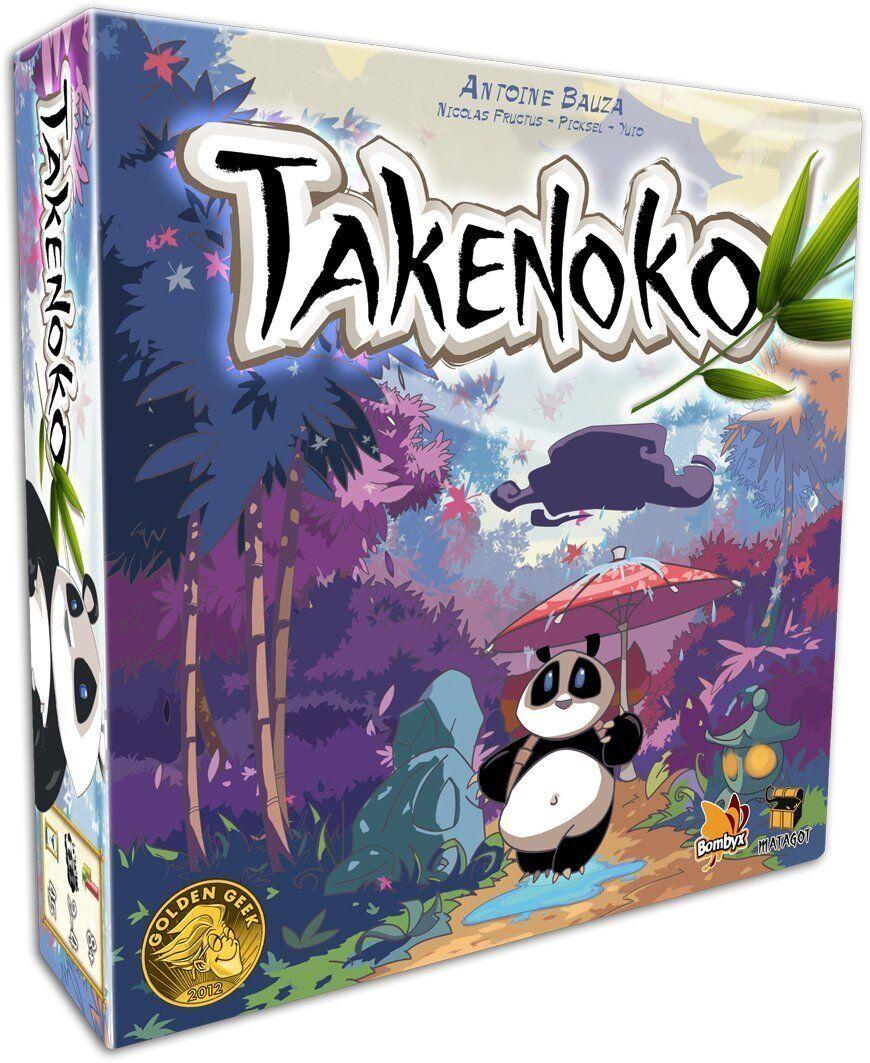 Takenoko Panda Board Game Asmodee ASM TAK01 Family Antoine Bauza