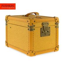 GENUINE LOUIS VUITTON YELLOW EPI LEATHER BEAUTY CASE BOX c.2000