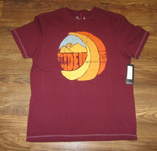 Red Size M New Hause of Howe Men/'s T-shirt Ride-On NEW Cotton