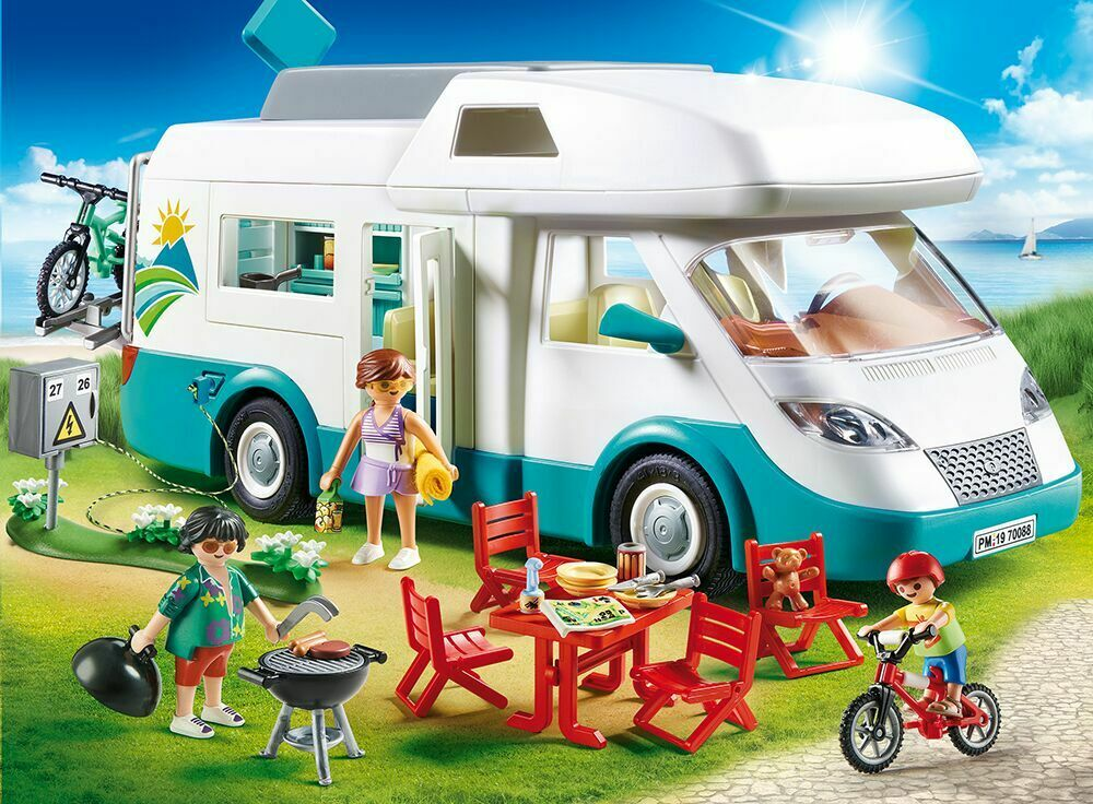 Playmobil 70088 - Grand Camping-voiture Familial, Neuf  Embal. Origine   bienvenue pour acheter