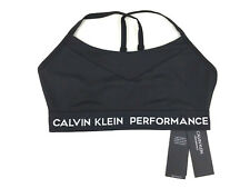 a83432550b0 Calvin Klein Performance Low Impact Strappy Sports Bra - Black - S - RRP £35