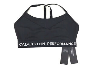 1a34b254f8 Image is loading Calvin-Klein-Performance-Low-Impact-Strappy-Sports-Bra-