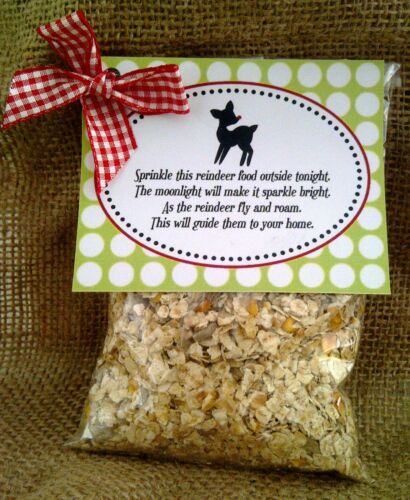 REINDEER FOOD CHRISTMAS EVE KIDS MULTI ACTIVITY SOLD FOR HOSPICE
