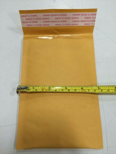 """500 #000 4x8 Kraft Paper Bubble Padded Envelopes Mailers Shipping Case 4/""""x8/"""""""