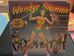 Wonder Woman 33 1/3 LP BRAND NEW album! Still sealed! 1975!