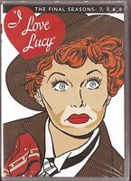 I Love Lucy Season 7, 8 & 9 - Dvd Tv Shows Seven Eight Nine Brand