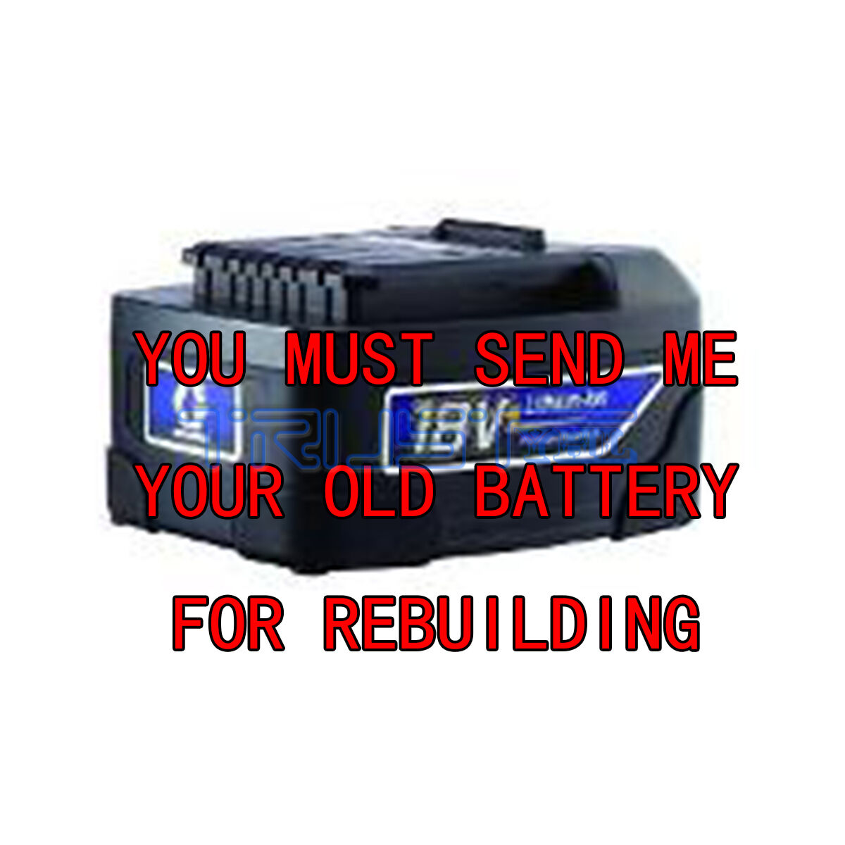 Rebuild Rebuild Rebuild service for Graco ProShot 18-Volt 16D558 Upgraded to 4.0 A/H Cells 962984
