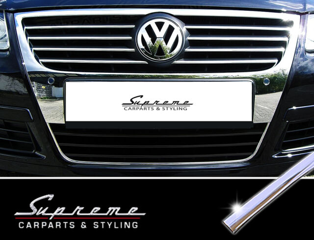 VW Passat B6 TYPE 3C Chrome Trim for Radiator Grille Upper 3M