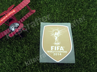 Player Issue 2014 World Cup Champions Germany Soccer Sleeve Chest Patch