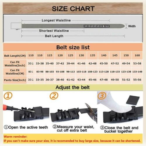 Designer Black Leather Mens Belts Automatic Buckles Formal Dress Suit Belts Gift