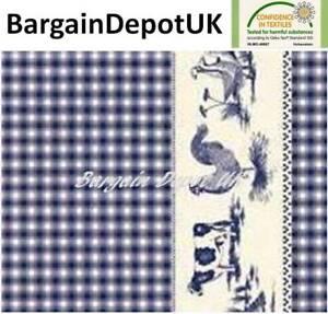 Farm-Animals-Check-PVC-Wipe-Clean-Vinyl-Tablecloth-ALL-SIZES-Code-F323-1