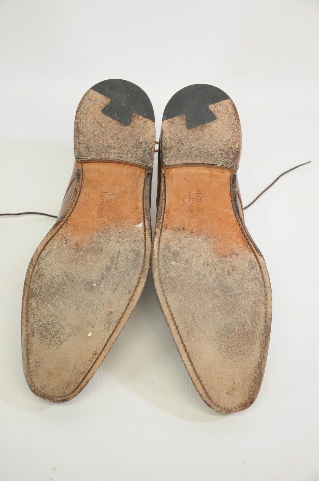Allen Moc Edmonds Charleston Braun Leder Moc Allen Toe Oxfords Dress Schuhes 9 D fae3df