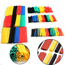328pcs Polyolefin 2:1 Heat Shrink Tubing Electrical Wrap Wire Cable Sleeving