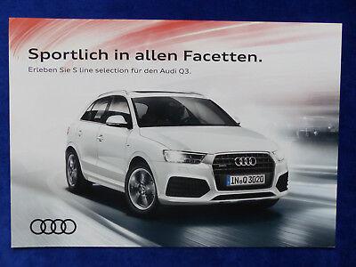 Audi RS Q3 Performance quattro 367 PS Hardcover Prospekt Brochure 04.2016