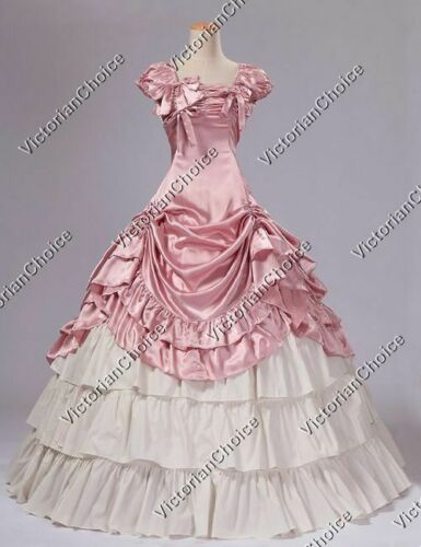 80s Dresses | Casual to Party Dresses    Southern Belle Princess Fancy Dress Ball Gown Reenactment Halloween Costume 270  AT vintagedancer.com