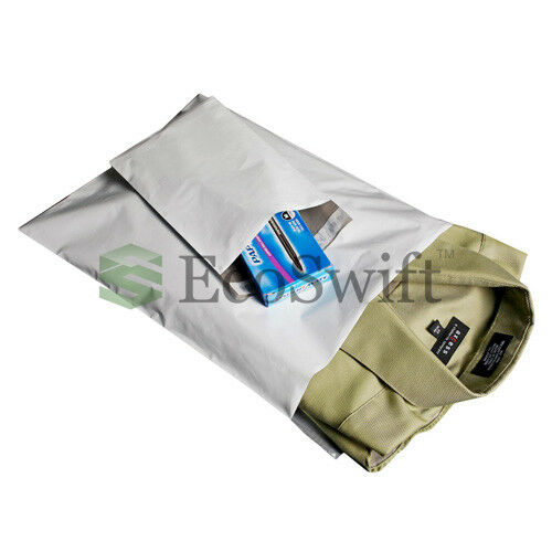 35 10x10 Square White Poly Mailers Shipping Envelopes Self Sealing Bags 2.35 MIL