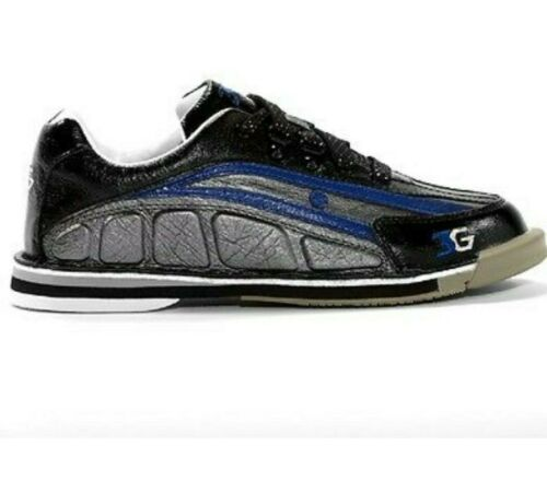 Interchangeable Mens Bowling Shoes 3G Tour Ultra Black//Blue 11 Right Handed