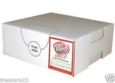 Dr Pepper Syrup Concentrate Fresh Soda Fountain Drink Dispenser Machine 1 Gallon
