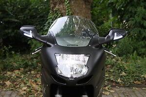 Schwarze-LED-Blinker-Frontblinker-mit-Standlicht-Honda-CBR-1100-XX-Blackbird