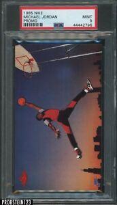 "1985 Nike Promo Basketball Michael Jordan RC Rookie HOF PSA 9 "" SUPER PRISTINE """