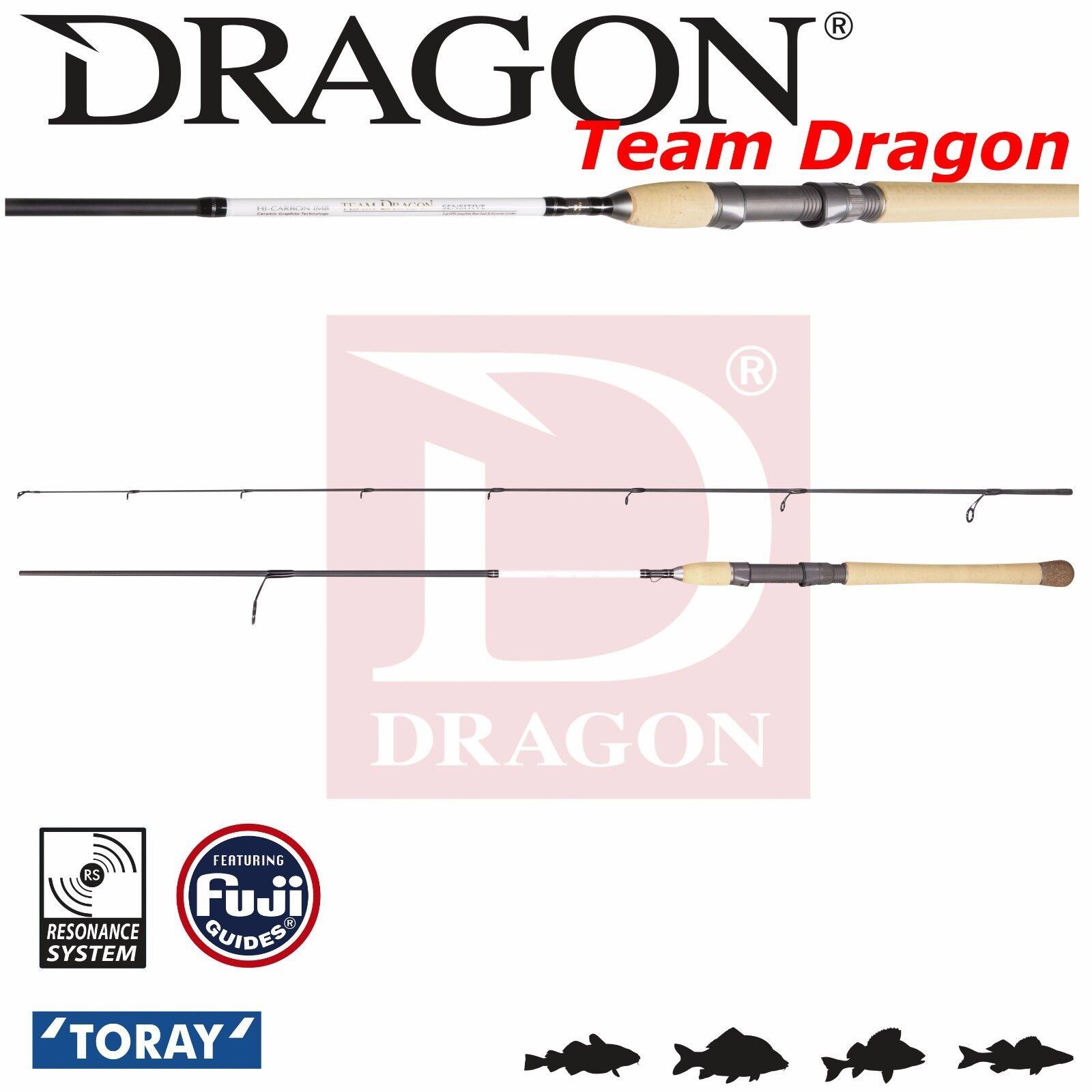 Esca Esca Esca Spinning Rod Team Dragon Wobbler 8' 2,45 M 18-42 G veloce azione media potenza 66cb35