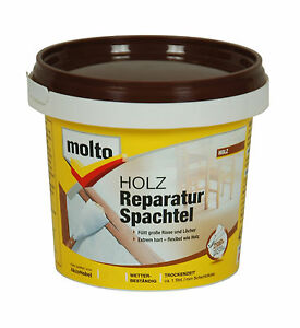 molto holz reparatur spachtel 1 kg holz spachtel ebay. Black Bedroom Furniture Sets. Home Design Ideas