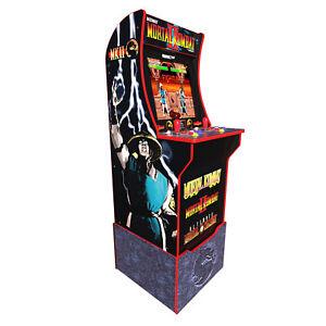 Mortal-Kombat-2-Arcade-1Up-Machine-Arcade1UP-4ft-Tall-Video-Game-Cabinet-Riser