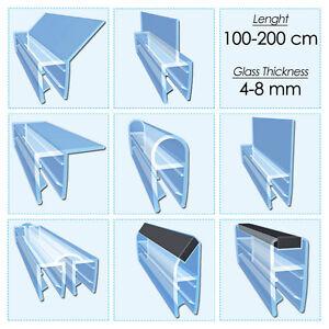 Shower screen rubber strip