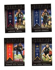 2016-PANINI-combine-des-champions-Rookie-FOOTBALL-CARDS
