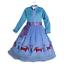 Sleeping-Beauty-Rapuzel-Bella-Cinderella-Esla-Anna-Princess-Costume-Girls-Dress