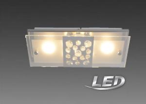 Lampe Deckenlampe Deckenleuchte Näve LED Leuchte Glaslampe 1230742