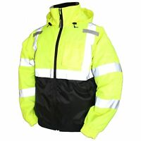 Tingley Rubber J26112 Bomber Ii Jacket, 3x-large, Lime Green , New, Free Shippin