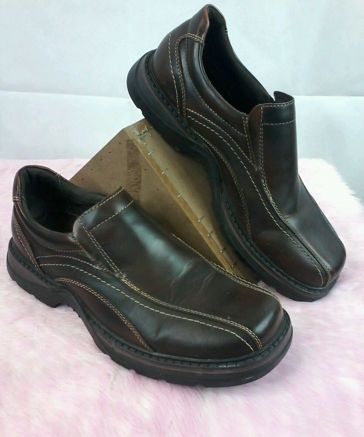 fe29ccd39fe Aldo Loafers Brown Leather Mens Size 8.5 s144. Sentencing Policy · Propet  Walking shoes ...